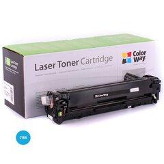 ColorWay toner cartridge for HP CF211A (131C); Canon 731C kaina ir informacija | Kasetės lazeriniams spausdintuvams | pigu.lt
