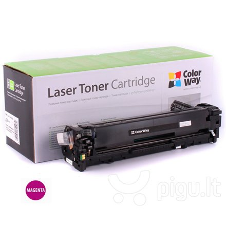 ColorWay toner cartridge for HP CF213A (131M); Canon 731M
