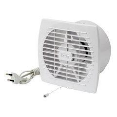 Ištraukimo ventiliatorius Europlast EXTRA d120mm su laidu ir virvele kaina ir informacija   Vonios ventiliatoriai   pigu.lt