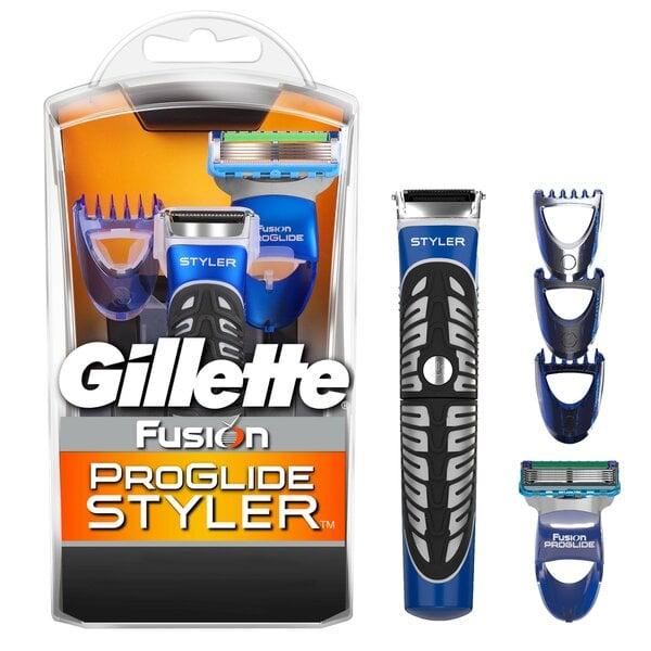 Skustuvas su kirpikliu Gillette Fusion Proglide Styler 3 in 1