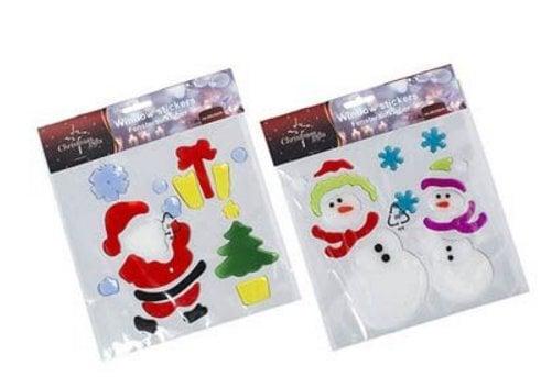 Stiklo lipdukas Kalėdos, 18 dalių kaina ir informacija | Interjero lipdukai | pigu.lt