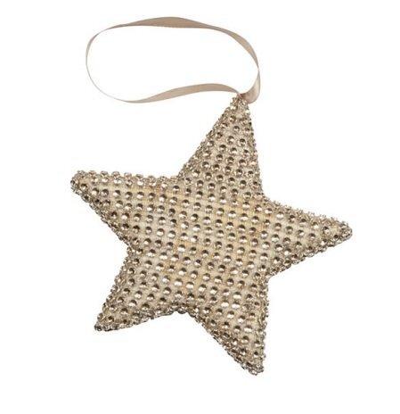 Eglutės žaisliukas Žvaigždė 1 vnt. kaina ir informacija | Kalėdinės dekoracijos, eglutės žaisliukai | pigu.lt