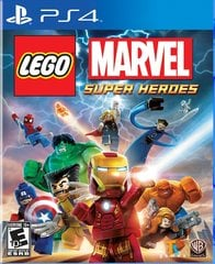 LEGO Marvel Super Heroes, PS4