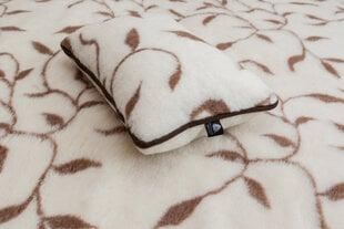 Merino antklodė dviguba Lapai
