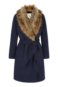 Paltas moterims Yumi kaina ir informacija | Paltai, striukės moterims | pigu.lt