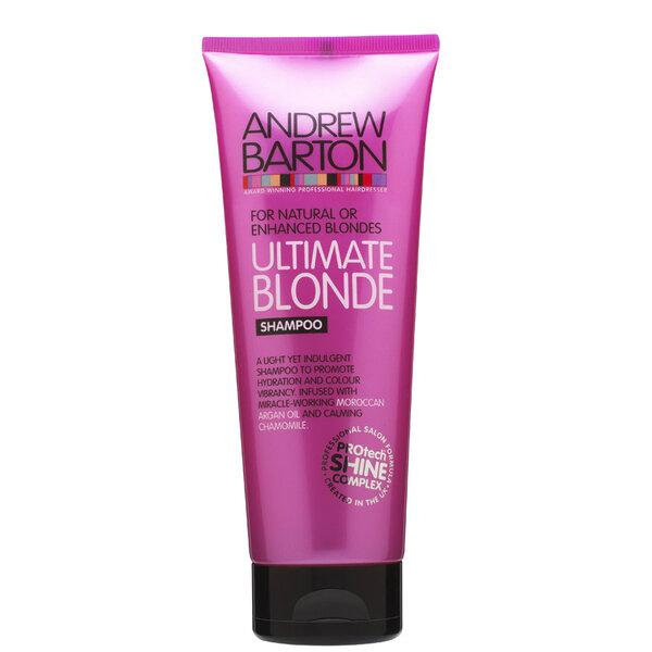 Šampūnas šviesiems plaukams Andrew Barton 250 ml kaina ir informacija | Šampūnai | pigu.lt