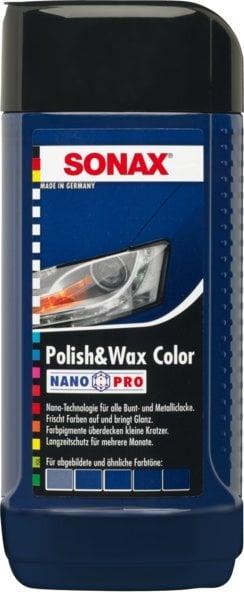 Mėlynos spalvos polirolis su vašku SONAX kaina ir informacija | Automobilinė chemija | pigu.lt