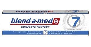 Dantų pasta Blend A Med Complete 7 White, 100 ml kaina ir informacija | Dantų šepetėliai, pastos | pigu.lt