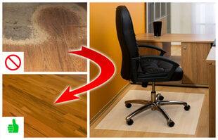Apsauginis grindų kilimėlis, 0.5 mm kaina ir informacija | Biuro kėdės | pigu.lt