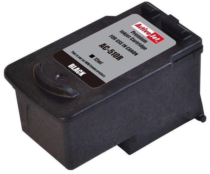ActiveJet AC-510R (Canon PG-510), juoda kaina