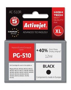 ActiveJet AC-510R (Canon PG-510), juoda kaina ir informacija | Kasetės rašaliniams spausdintuvams | pigu.lt