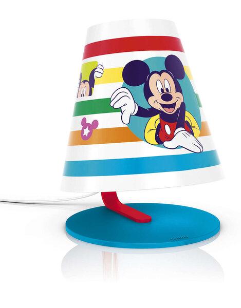 Philips stalinis šviestuvas Mickey Mouse kaina ir informacija | Vaikiški šviestuvai | pigu.lt