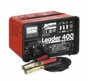 Akumuliatoriaus pakrovėjas-paleidėjas Leader 400 Start kaina ir informacija | Akumuliatorių krovikliai | pigu.lt