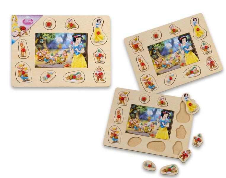 Medinė dėlionė Play Me kaina ir informacija | Žaislai kūdikiams | pigu.lt