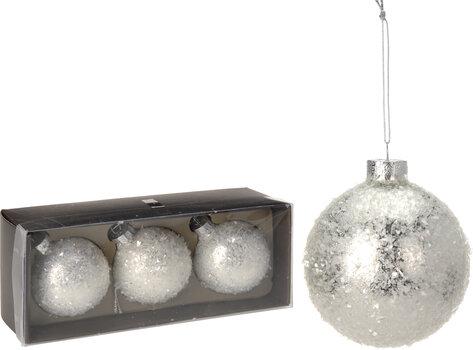 Eglutės žaisliukai 3 vnt. kaina ir informacija | Kalėdinės dekoracijos | pigu.lt