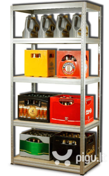 Sandėliavimo lentyna HZ 402 kaina ir informacija | Sandėliavimo lentynos | pigu.lt