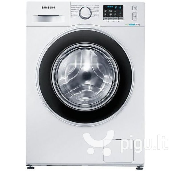Samsung WF60F4ECW2W kaina ir informacija | Skalbimo mašinos | pigu.lt
