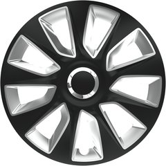 Ratų gaubtai Stratos RC Black&Silver