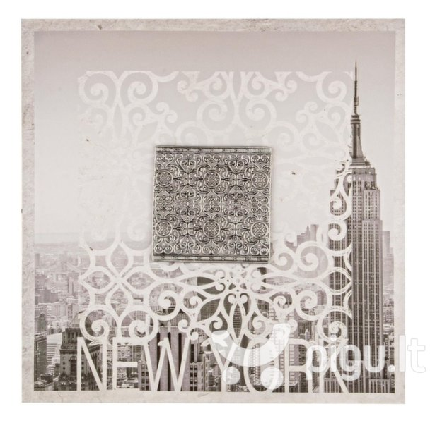Reprodukcija Miestų bokštai2 kaina ir informacija | Reprodukcijos, paveikslai | pigu.lt