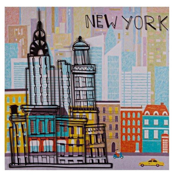 Reprodukcija Miestų spalvos1 kaina ir informacija | Reprodukcijos, paveikslai | pigu.lt