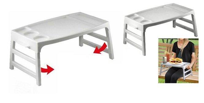 Pusryčių staliukas kaina ir informacija | Virtuvės, stalo įrankiai | pigu.lt