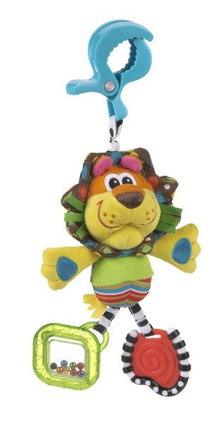 Pakabinamas liūtukas Rori Dingly Dangly, PLAYGRO 0182853 kaina ir informacija | Žaislai kūdikiams | pigu.lt