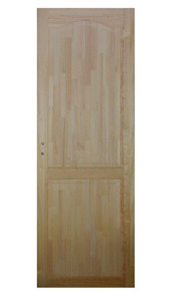 Durys su stakta 60 KOKA 2P, pušies masyvo kaina ir informacija | Vidaus durys | pigu.lt