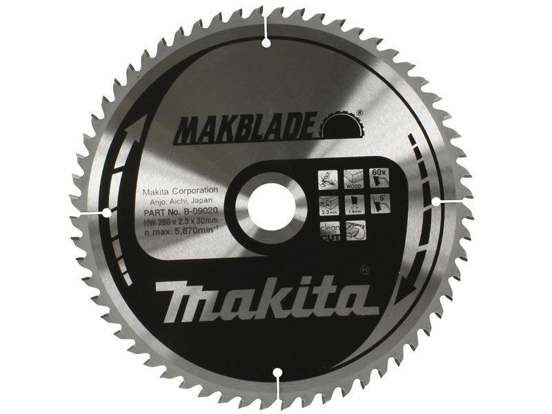 Makita pjovimo diskas 260mmx30mm B-09020 kaina ir informacija | Pjūklai, pjovimo staklės | pigu.lt