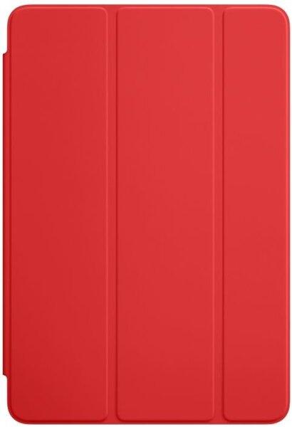 Išmanus dėklas skirtas Apple iPad mini 4, Raudonas kaina ir informacija | Planšečių, el. skaitytuvų dėklai | pigu.lt