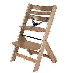 Medinė maitinimo kėdutė BabyGo
