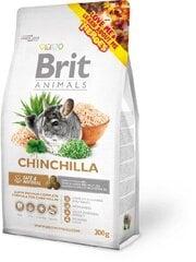 Brit Animals Chinchilla 300 g kaina ir informacija | Narvai, jų priedai graužikams | pigu.lt