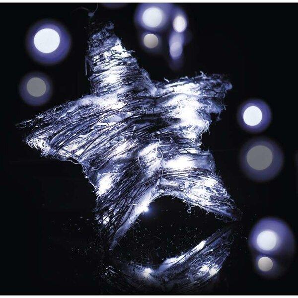 Šviečianti kalėdinė dekoracija Žvaigždė 30 LED kaina ir informacija | Kalėdinės dekoracijos, eglutės žaisliukai | pigu.lt