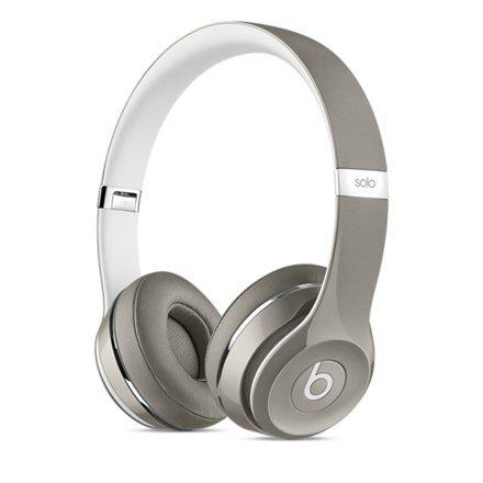 Ausinės Beats by Dr. Dre Solo 2 , Sidabrinės (Luxe Edition) kaina ir informacija | Ausinės, mikrofonai | pigu.lt