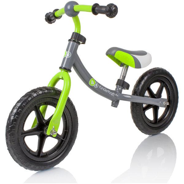 Balansinis dviratukas Kinderkaft 2WAY su keičiama rėmo padėtimi kaina ir informacija | Balansiniai dviratukai | pigu.lt