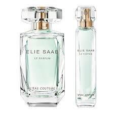 Rinkinys Elie Saab Le Parfum L´Eau Couture: EDT moterims 50 ml + EDT moterims 10 ml kaina ir informacija | Kvepalai moterims | pigu.lt