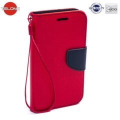 Telone Fancy Diary Bookstand Case LG G4c Mini H525N H525N Red/Blue