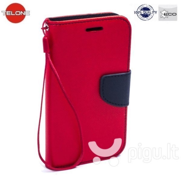 Telone Fancy Diary Bookstand Case Samsung A800 Galaxy A8 Red/Blue