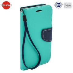 Telone Fancy Diary Bookstand Case Huawei Honor 7 Light Blue/Blue