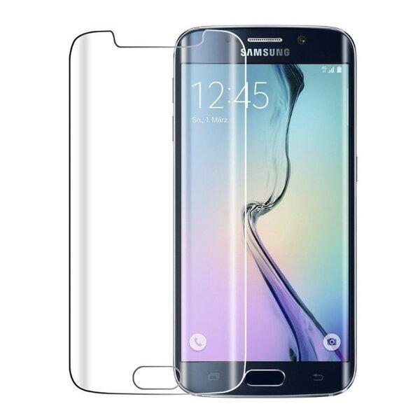 Apsauginis stiklas Forever Tempered Glass skirta Samsung Galaxy S6 Edge (G925), + galinis stikliukas (Nepilno ekrano) kaina ir informacija | Apsauginės plėvelės telefonams | pigu.lt