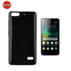 Telone Candy Ultra Slim 0.3mm Shine Jelly Back Case Huawei Honor 4C Black kaina ir informacija | Telefono dėklai | pigu.lt