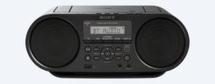 Grotuvas su radija Sony ZS-RS60BT, Mp3/CD, NFC/BT
