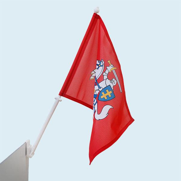 Lietuvos Istorinė automobilinė vėliavėlė kaina ir informacija | Vėliavos | pigu.lt