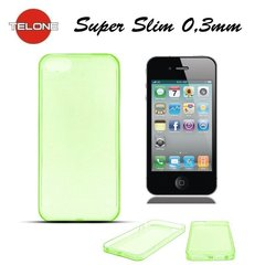 Telone Ultra Slim 0.3mm Back Case Apple iPhone 4 4S Green