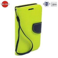 Telone Fancy Diary Bookstand Case Huawei P8 Lite Light Green/Blue kaina ir informacija | Telefono dėklai | pigu.lt