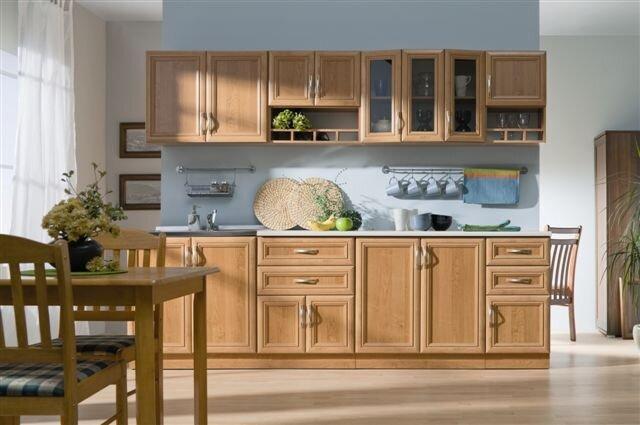 Virtuvinių spintelių komplektas Wanilia kaina ir informacija | Virtuvės baldų komplektai | pigu.lt