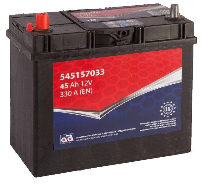 Akumuliatorius AD 45Ah 330A kaina ir informacija | Akumuliatoriai | pigu.lt