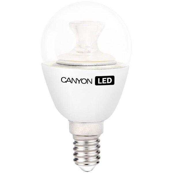 LED lemputė CANYON P45 E14 3,3W 230V 2700K kaina ir informacija | Elektros lemputės | pigu.lt