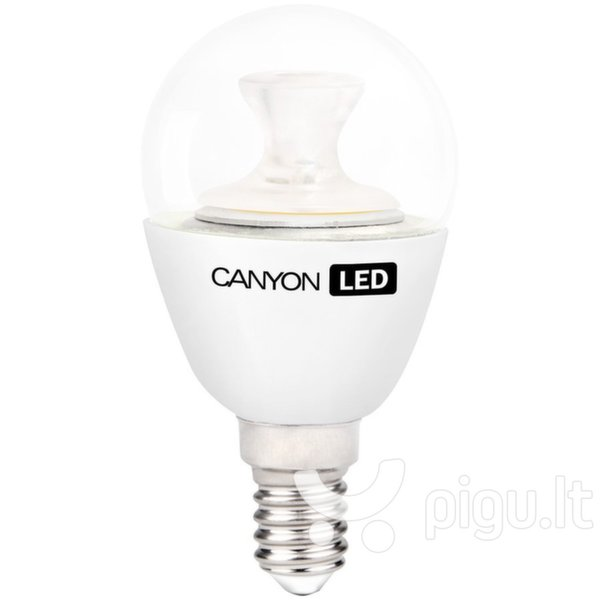 LED lemputė CANYON P45 E14 6W 230V 2700K kaina ir informacija | Elektros lemputės | pigu.lt