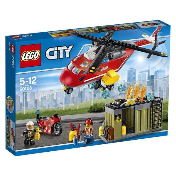 Konstruktorius LEGO® City Ugniagesių greitojo reagavimo būrys 60108 kaina ir informacija | Konstruktoriai ir kaladėlės | pigu.lt