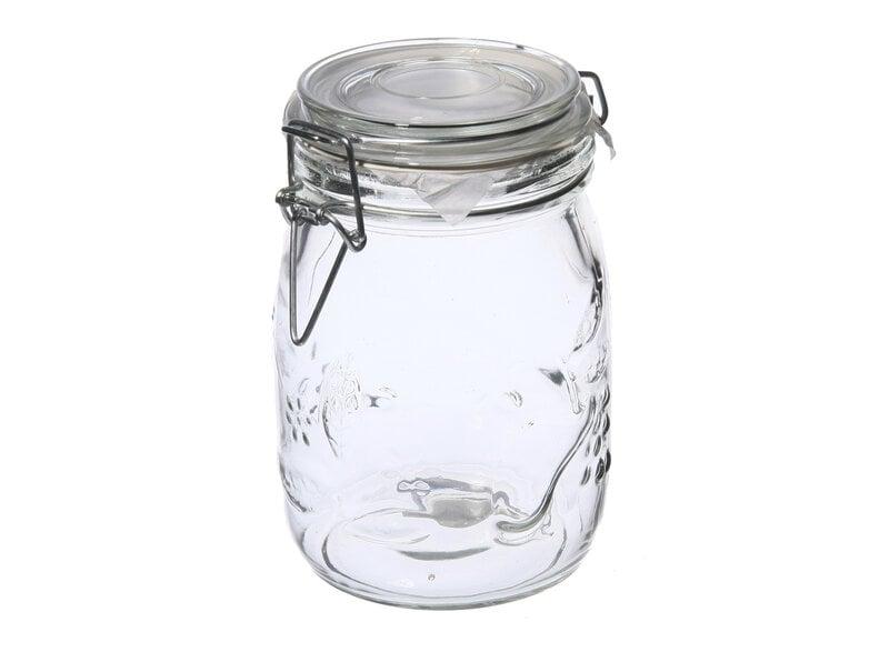 Stikliniai hermetiniai indai kaina ir informacija | Maisto saugojimo, konservavimo indai | pigu.lt